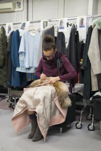 La Fabrique sfilata \ fashion show behind the scenes